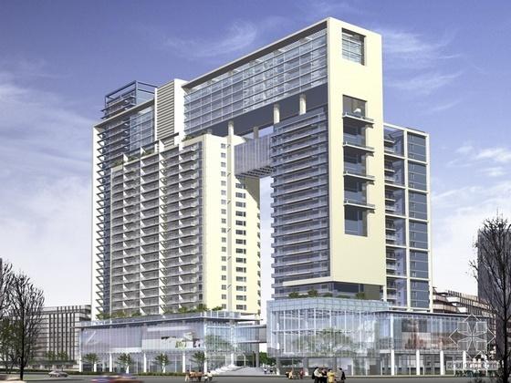 [深圳]某二十五层高层住宅方案文本