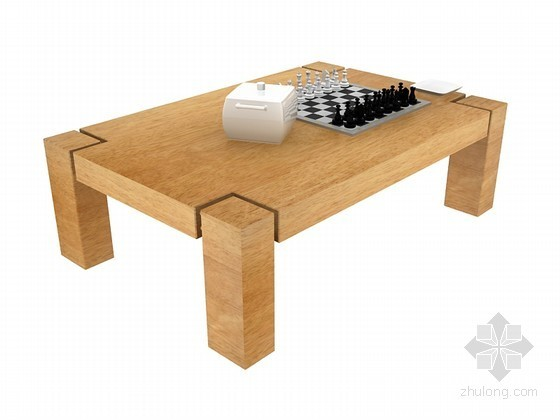 茶几3D模型下载