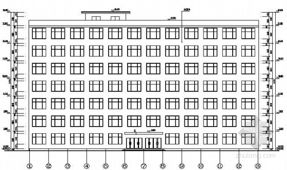 [学士]七层框架填充墙教学楼优秀毕业设计(含建筑、结构施工图)