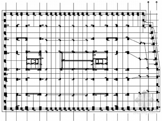 [重庆]住宅楼地下室基坑喷锚支护土方开挖施工设计图