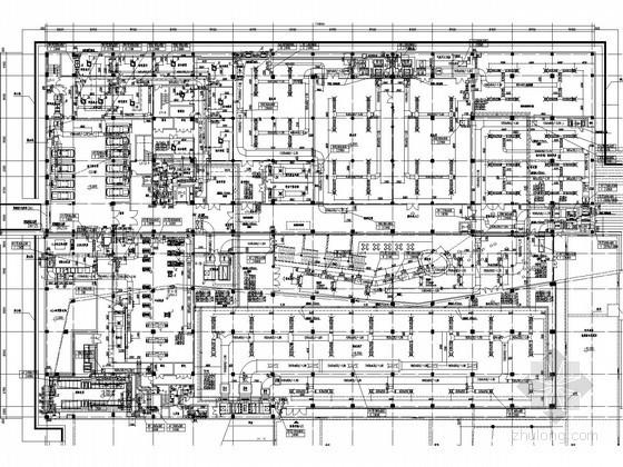 [安徽]文化建筑空调通风及防排烟系统设计施工图(大院作品)