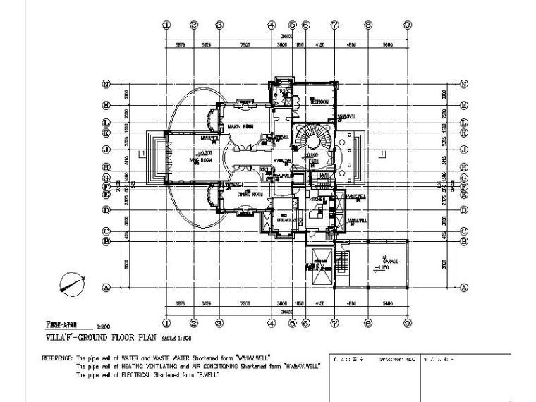 [上海]国外设计院纯欧式风格大型别墅区设计方图纸擎天柱乐高图片
