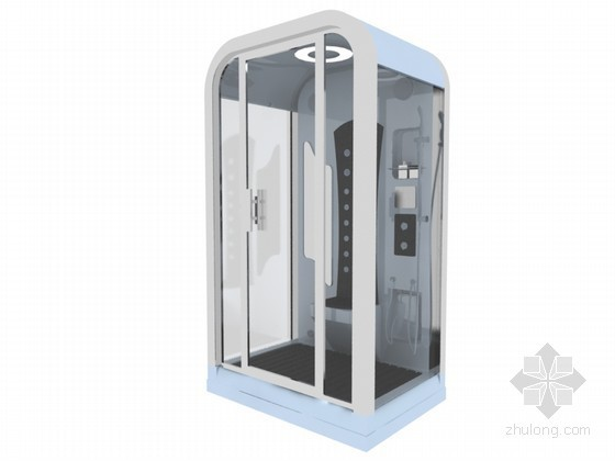 简约浴室3D模型下载