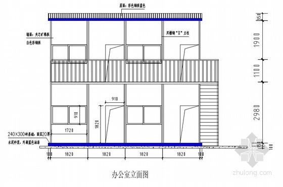 [天津]会展中心施工现场临时设施设计与施工方案