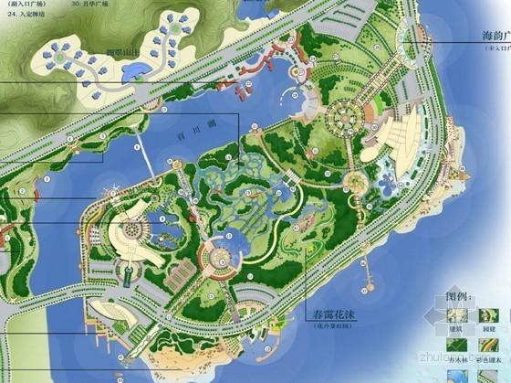 [广州]海滨公园景观概念设计方案