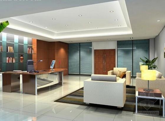 [安徽]业务技术用房室内外装饰工程量清单控制价(含全套图纸)