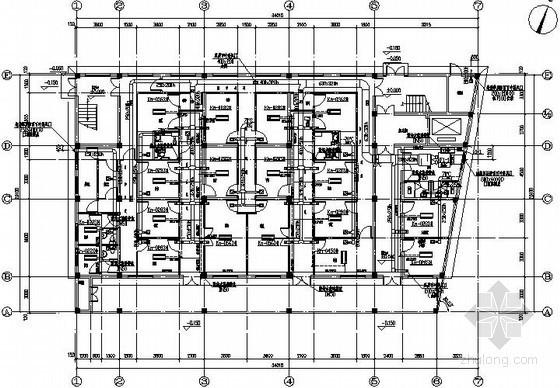 [浙江]大型医院空调通风设计施工图