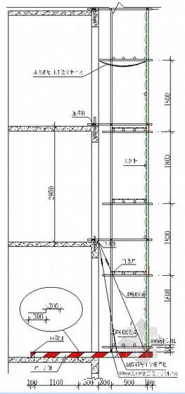 工字钢悬挑外脚手架施工方案(有计算书)