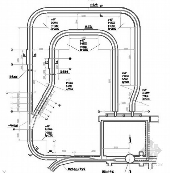 [宁夏]煤矿工程施工图纸(供电 排水 矿井)