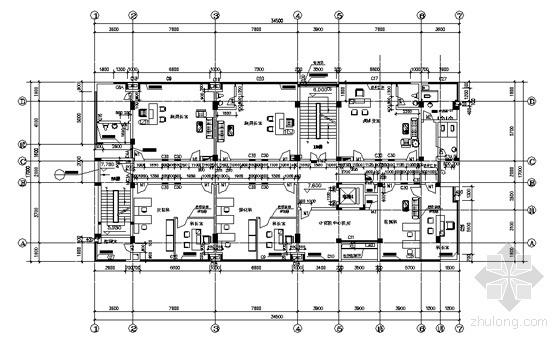 三层平面图