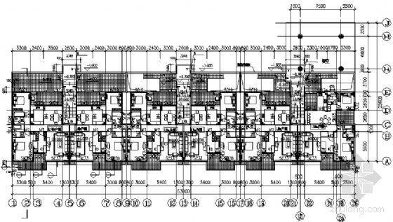 东部花园洋房11栋住宅楼建筑施工图-2