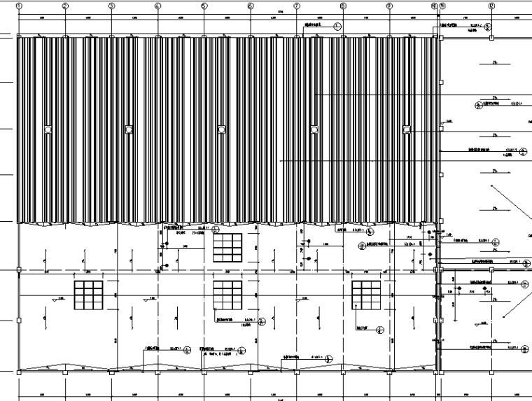 一号游泳池水处理系统工程施工图(cad)图纸动软启图片
