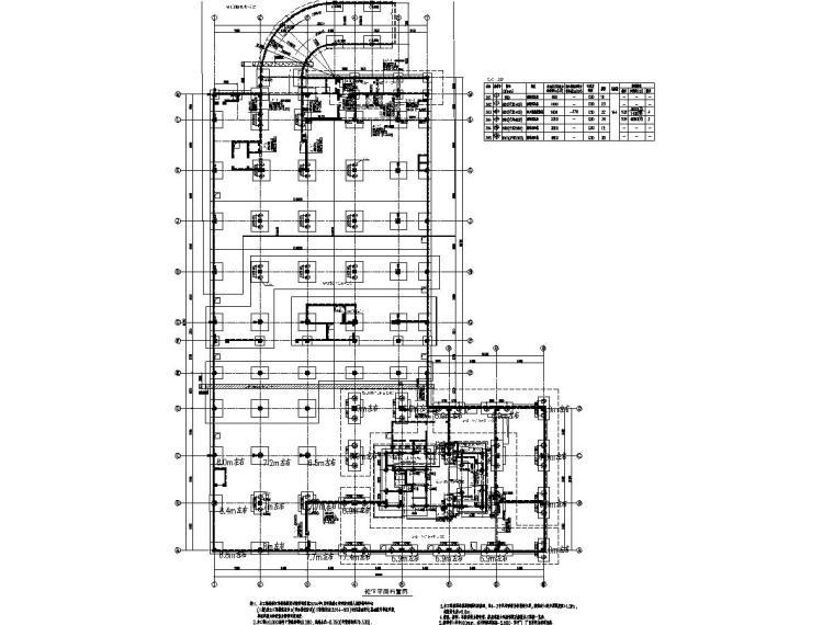 [浙江]地上12层框剪结构康复中心与框架结构篮球馆结构施工图