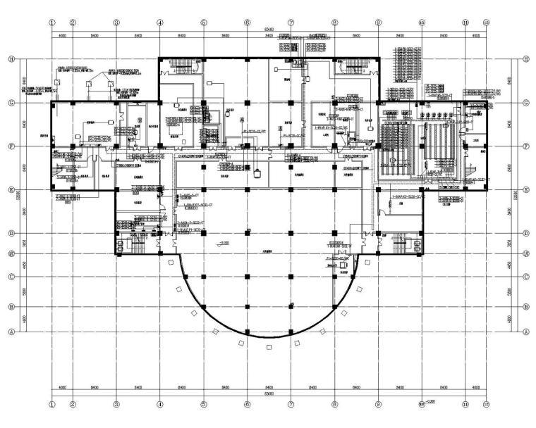 [山西]一中校区建筑群电气施工图312张(大院最新设计)
