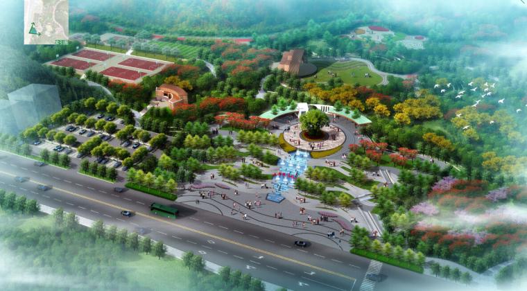 [广东]天然山林湿地景观设计方案