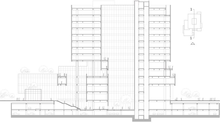 珠海天圆地方概念的医药科技产业园总部大楼-14