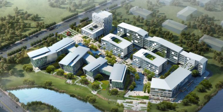 [重庆]后现代感文化产业园建筑设计方案文本(国内知名设计公司)