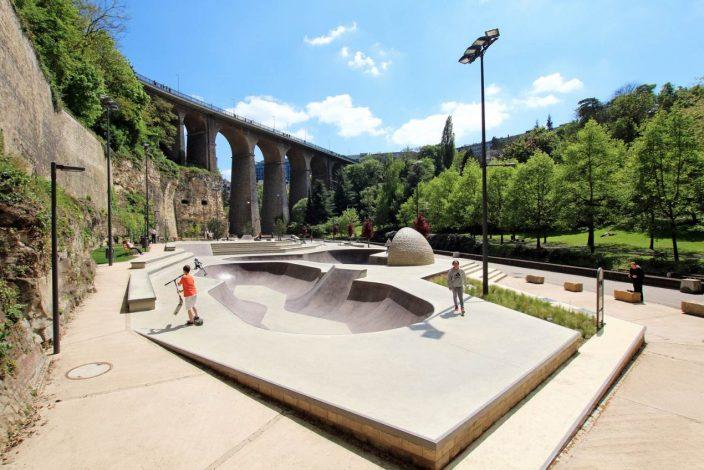 卢森堡滑板公园-8