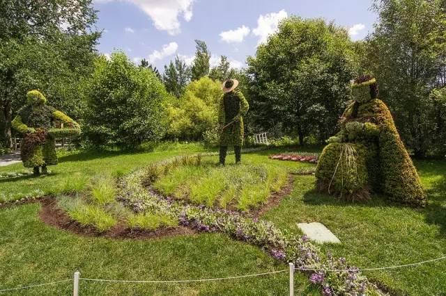 80个极美植物雕塑_4