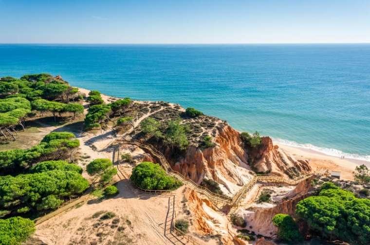 葡萄牙FALESIA海滩人行道