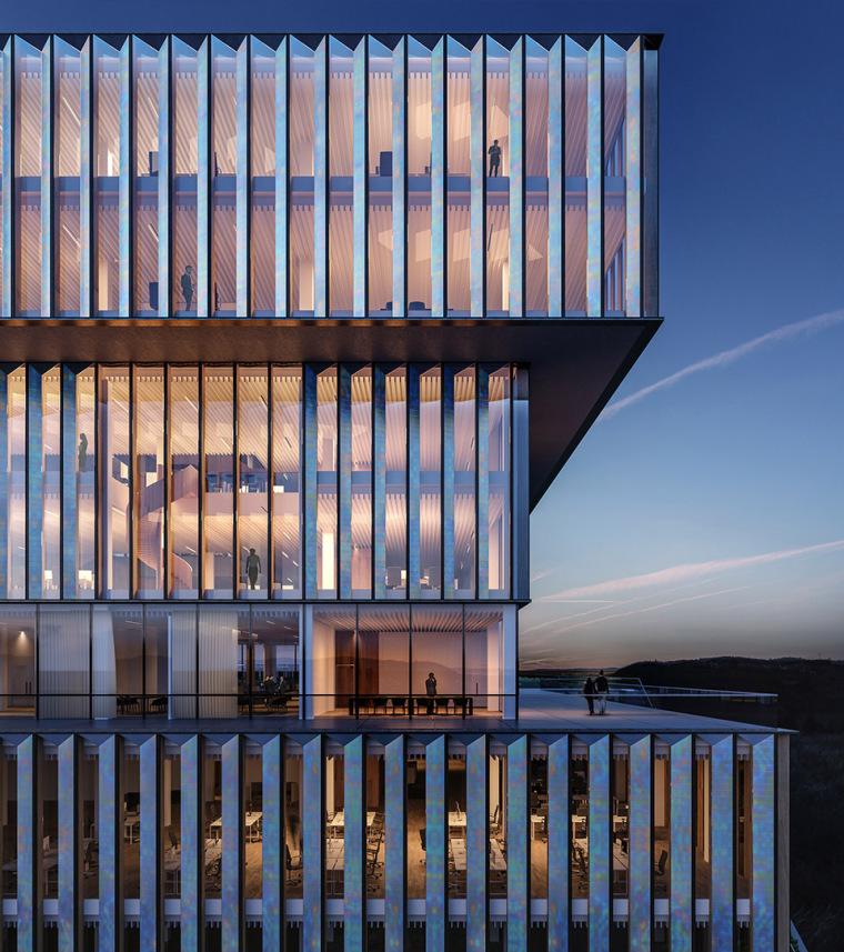 比利时可持续的Solvay国际办公总部-5