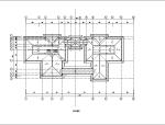 坡屋顶健身中心酒店CAD施工图