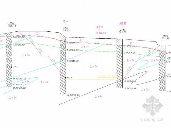 [重庆]城市道路及配套工程地质勘察报告(详勘)