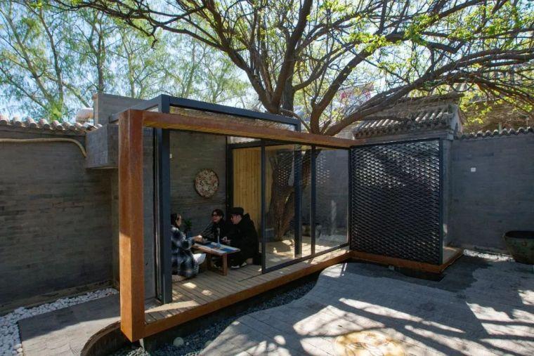 120平米四合院,改造成北京最美的胡同民宿