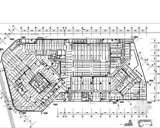 [江西]超高层酒店办公大厦给排水施工图纸(50层 209米 虹吸雨水 冷却塔)