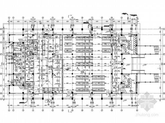 [安徽]三万平中学建筑给排水全套图纸(教学楼 食堂 实验楼 宿舍)