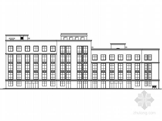 [浙江]5层保障性安居社区建筑设计施工图(含指标报告书2015年图纸)