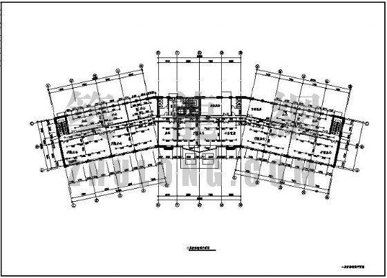 [分享]6层办公楼施工设计图资料免费下载斜筋设计图图片