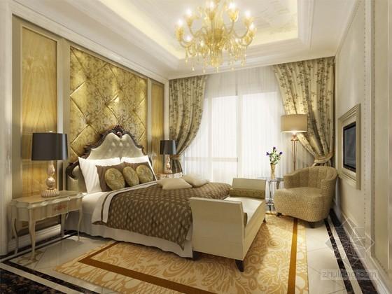 新古典卧室室内装修3D模型