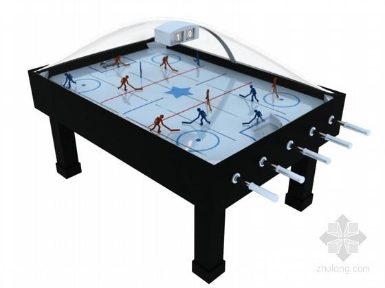 曲棍球游戏3D模型下载