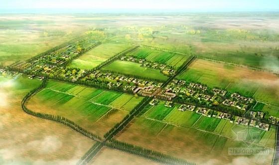 [新疆]民生为本新农村景观规划(知名规划院)