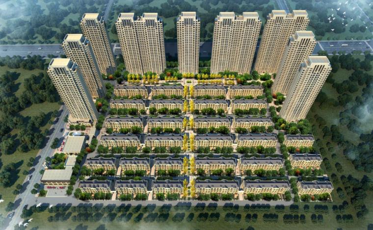 [河北]涿州码头地块商住综合体居住区设计(PDF)