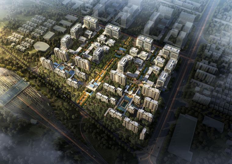 [上海]西虹桥·公园里—湖景公寓别墅建筑设计方案文本(高端定制,尊享生活)