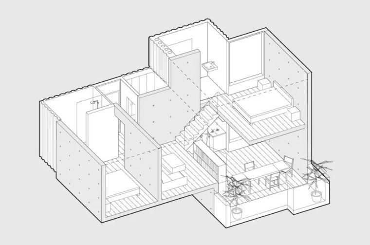 建筑师独立开发的公寓楼,真是好房子!_17