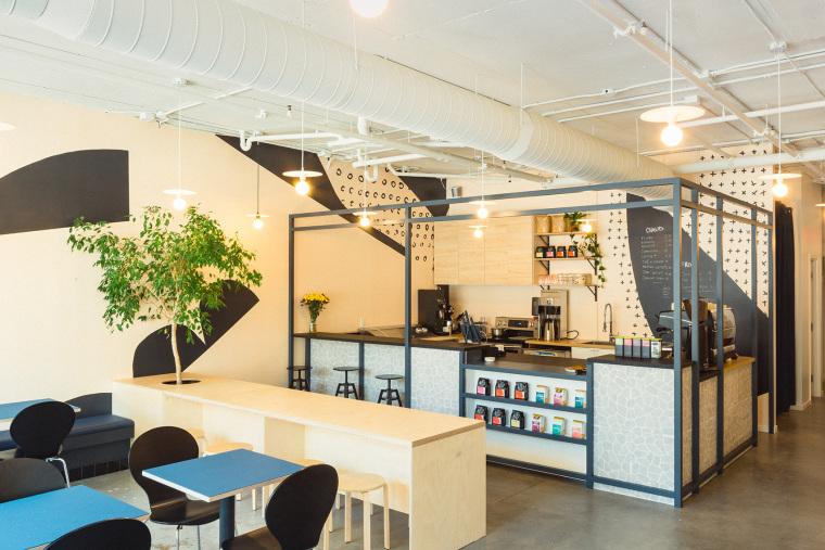 加拿大LesFaiseurs咖啡馆和陶艺工作室