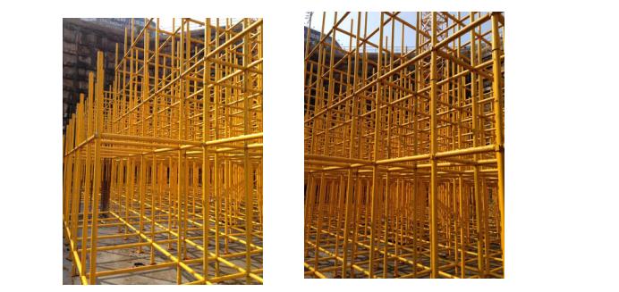 承插型键槽式钢管支架体系施工工法