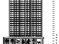 27层塔式框剪结构综合商业建筑图