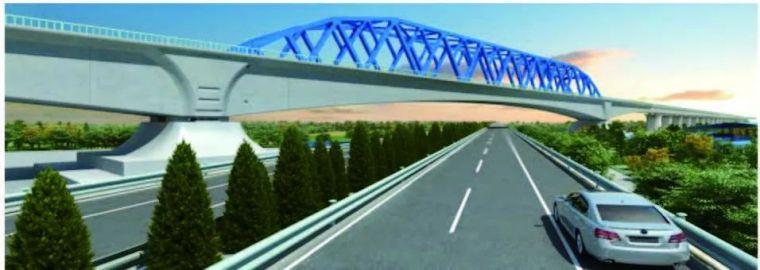 连续梁-钢桁组合桥 BIM 建模技术研究