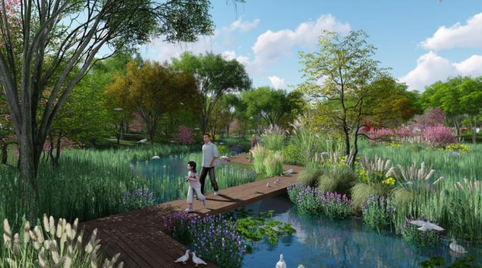 [辽宁]生态湿地海绵城市公园景观规划设计方案