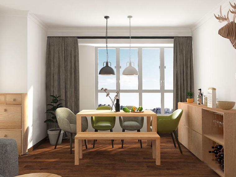 北欧混搭日式风格住宅
