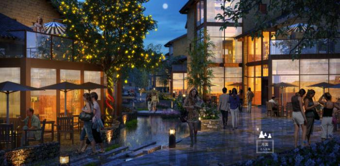 [广西]桂林风情古镇老街乡村景观设计方案(赠项目lumion动画)-效果图6