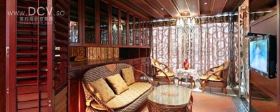 西安具有东方韵味得别墅设计-绿地世纪城样板间_8