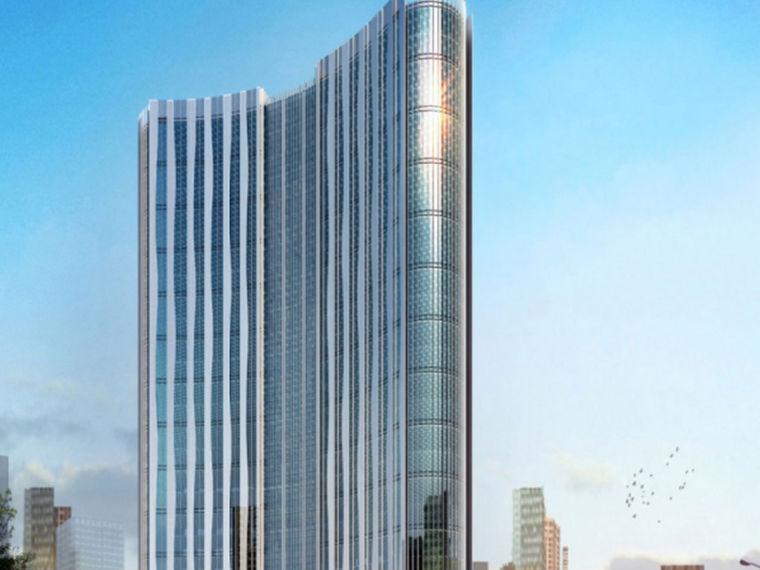 [山东]客运站商业配套框剪大楼幕墙专项施工方案
