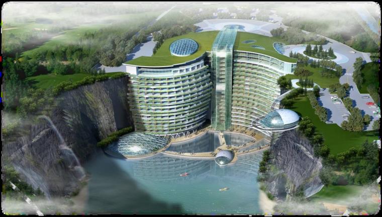 上海世茂深坑酒店项目BIM技术成果