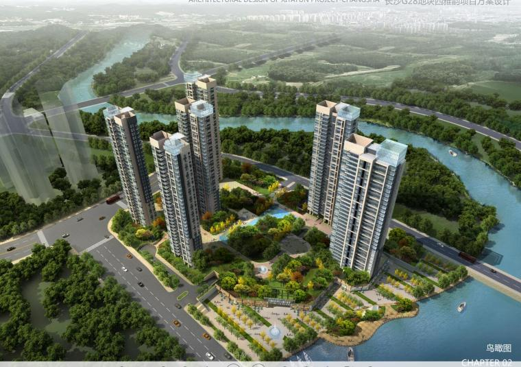 [中国]中铁逸都国际G组团建筑设计文本(包含JPG+64页)
