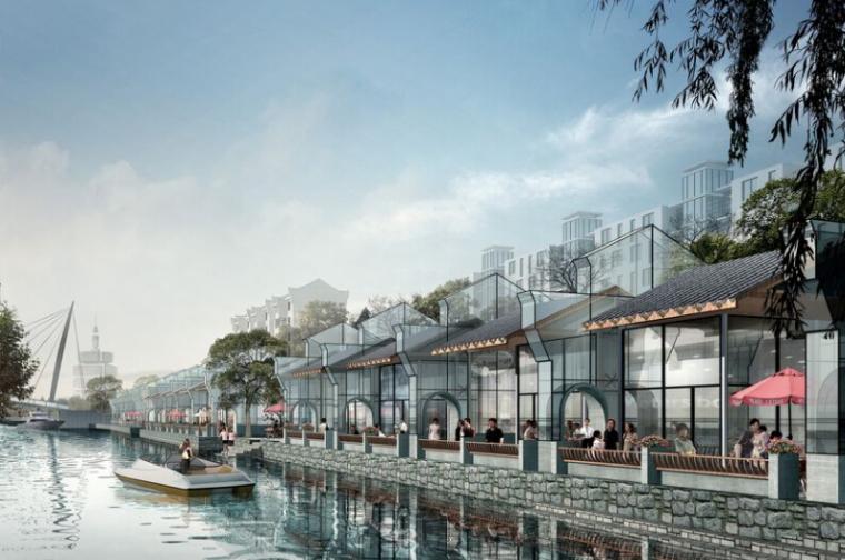[浙江]余杭塘栖城镇中心城市规划设计